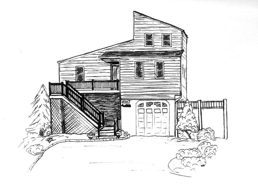Sketchy Gifts Gift Sketches Of Homes Realtor Gifts
